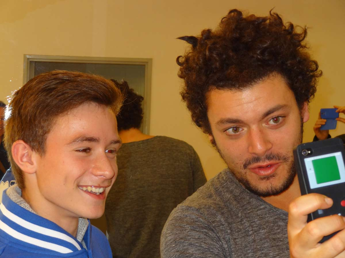 Rencontre kev adams
